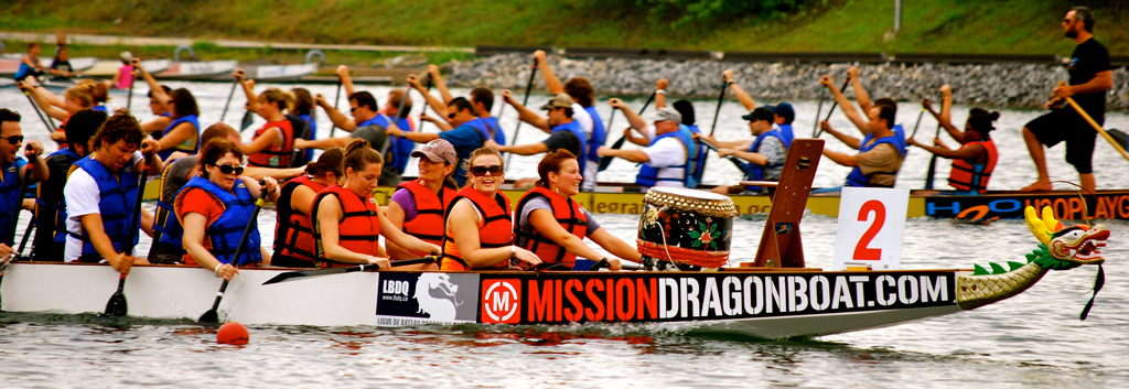 team building dragon boat