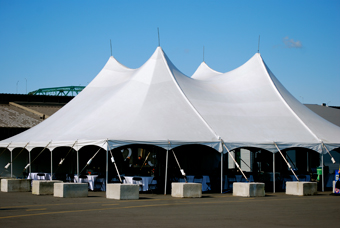 tent to host a mega-event