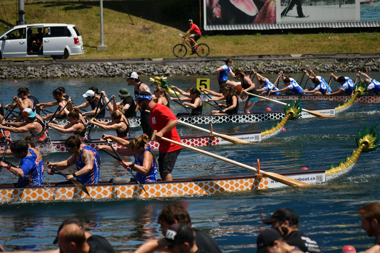 Steering dragon boat clinic