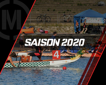 Courses bateau dragon saison 2020